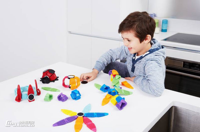 Flexible Magnetic Construction Kit - Buy1More