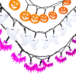Halloween Fairy String Lights (20Led-3Pcs) - Buy1More