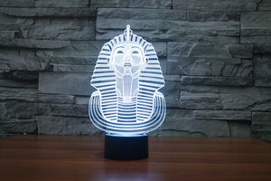 Pharaoh Pattern Colorful 3D LED Lamp - Buy1More