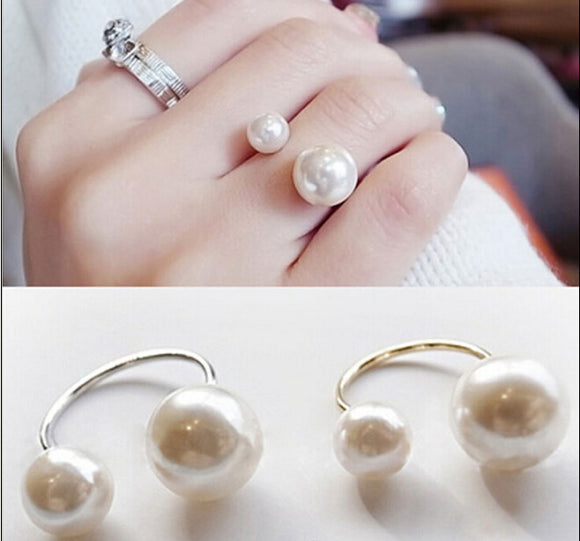 Women Fashion Ring Pearl Zinc Alloy - Buy1More
