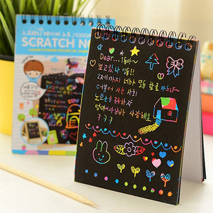 ScratchNote - Rainbow Drawing - Buy1More