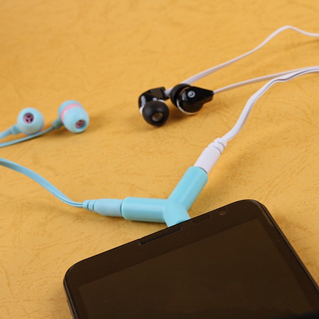 2 Pieces Splitter Earphone - Buy1More