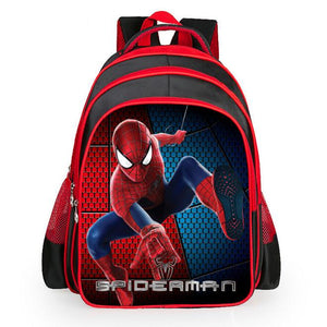 Spider-Man Black/red Schoolbag - Buy1More