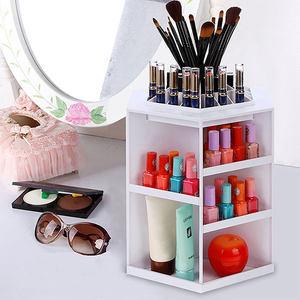 360 Degree Rotating Organizer Plastic Storage Box - Buy1More