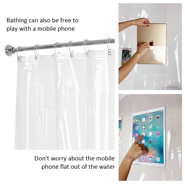 Clear Shower Curtain - Buy1More