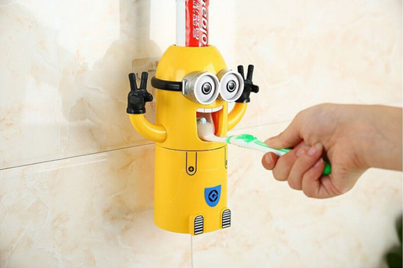 Minions Automatic Toothpaste Dispenser - Buy1More