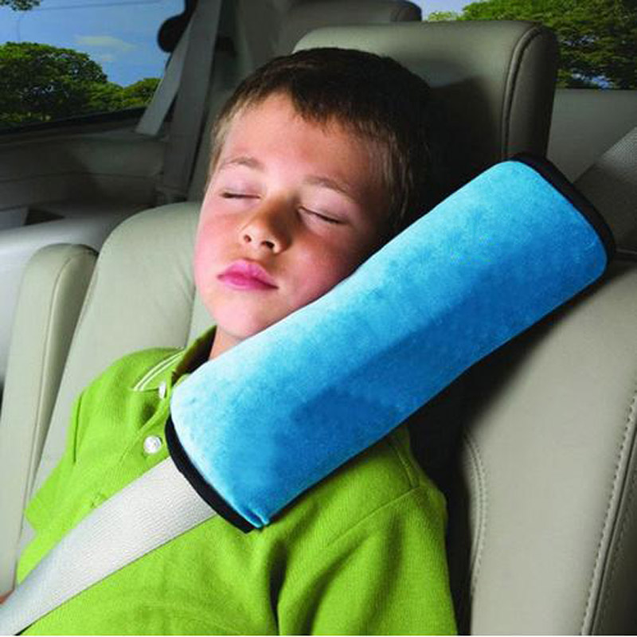 Soft Head Rest Seat Belt Pillow