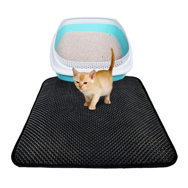 Double Layer Cat Litter Mat - Buy1More