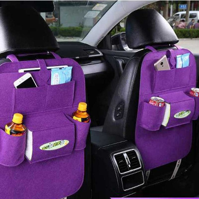 High Quality 1 Pieces Storage Back Seat Holder Washable And Mult iPocket - Buy1More