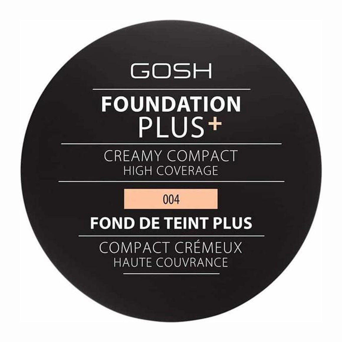 GOSH Foundation Plus Creamy Compact -004 (Natural)