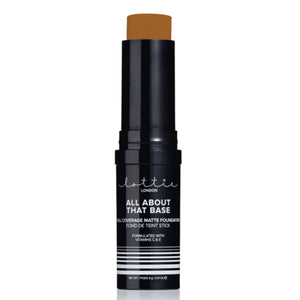 Lottie London - All About That Base Foundation Stick - Rich Toffee