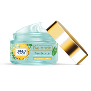 Bielenda FRESH JUICE Brightening Face Cream Booster with Pineapple and Lactobionic Acid - 50ml