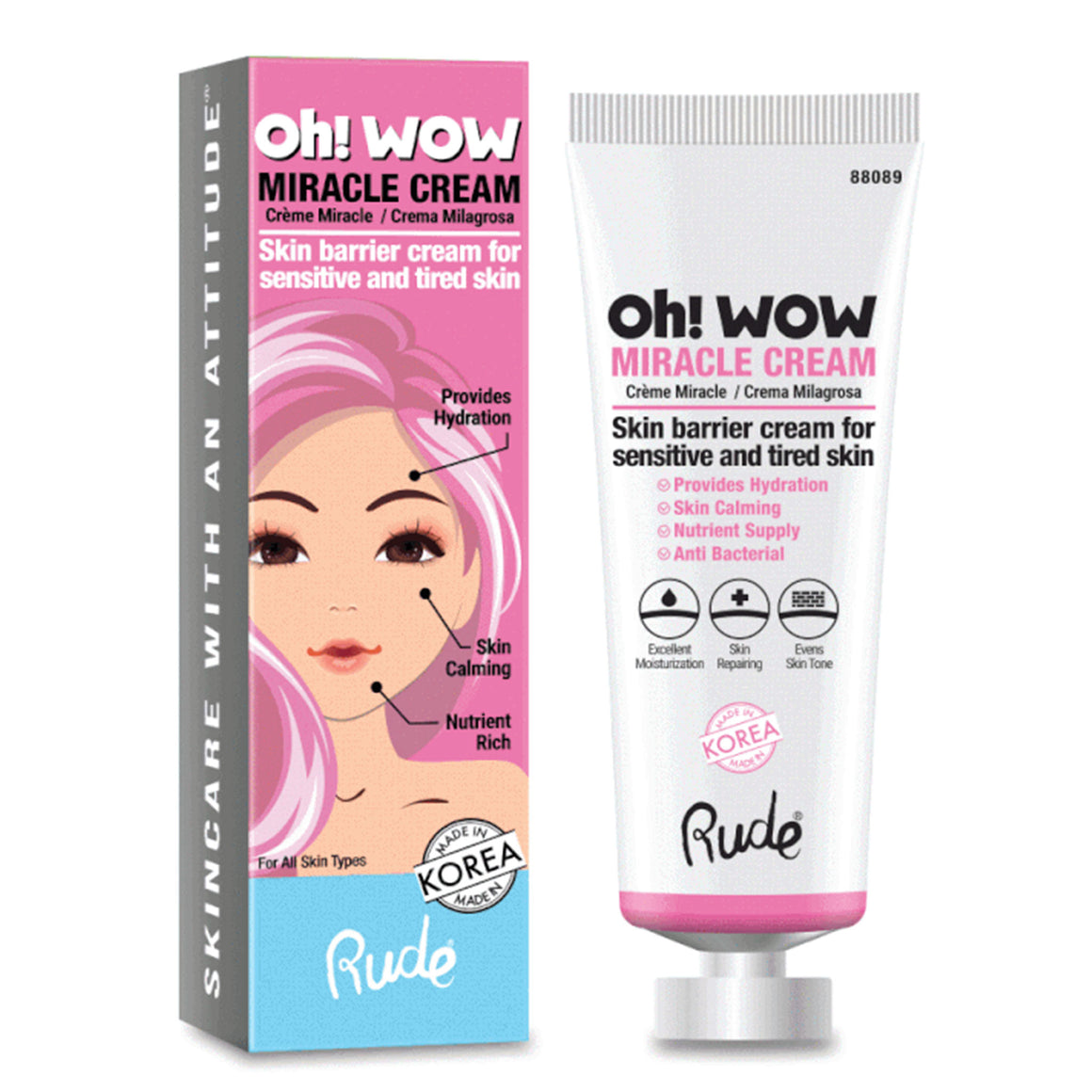 RUDE - Oh! Wow Miracle Cream