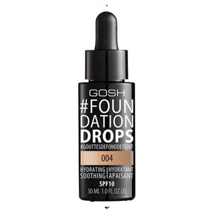 GOSH Foundation Drops SPF 10 - 004 (Natural)