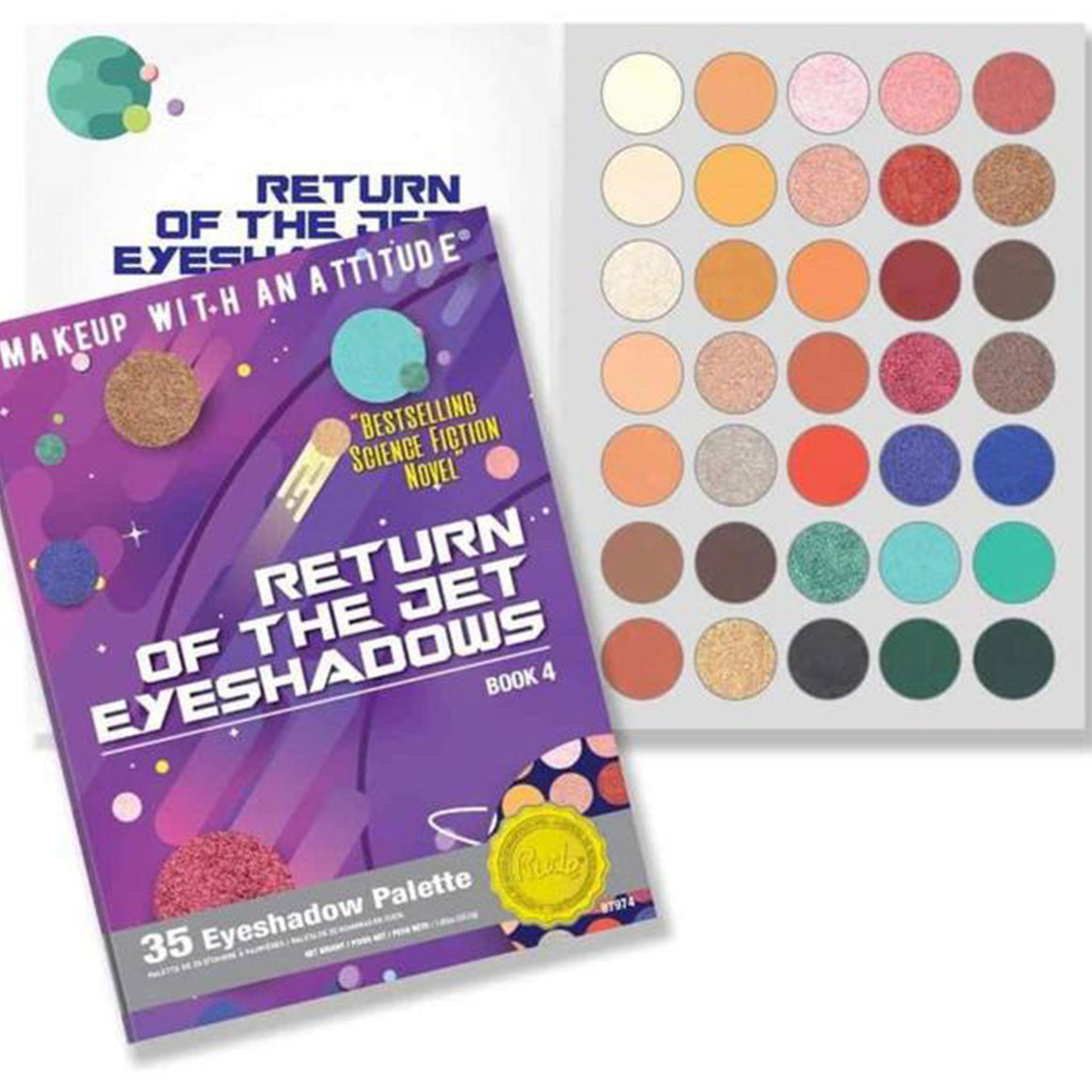 RUDE - Return of the Jet Eyeshadow Palette