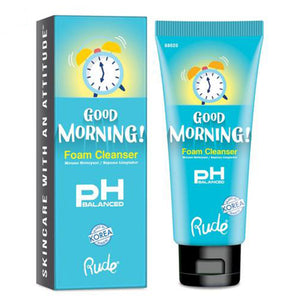 RUDE - Good Morning! PH Balanced Foam Cleanser 80ml
