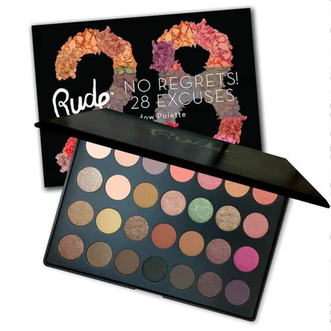 RUDE - No Regrets! 28 Excuses Eyeshadow Palette - Virgo