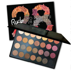 RUDE - No Regrets! 28 Excuses Eyeshadow Palette - Scorpio