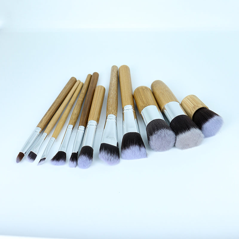 Bamboo Brush Set of 11 Pcs