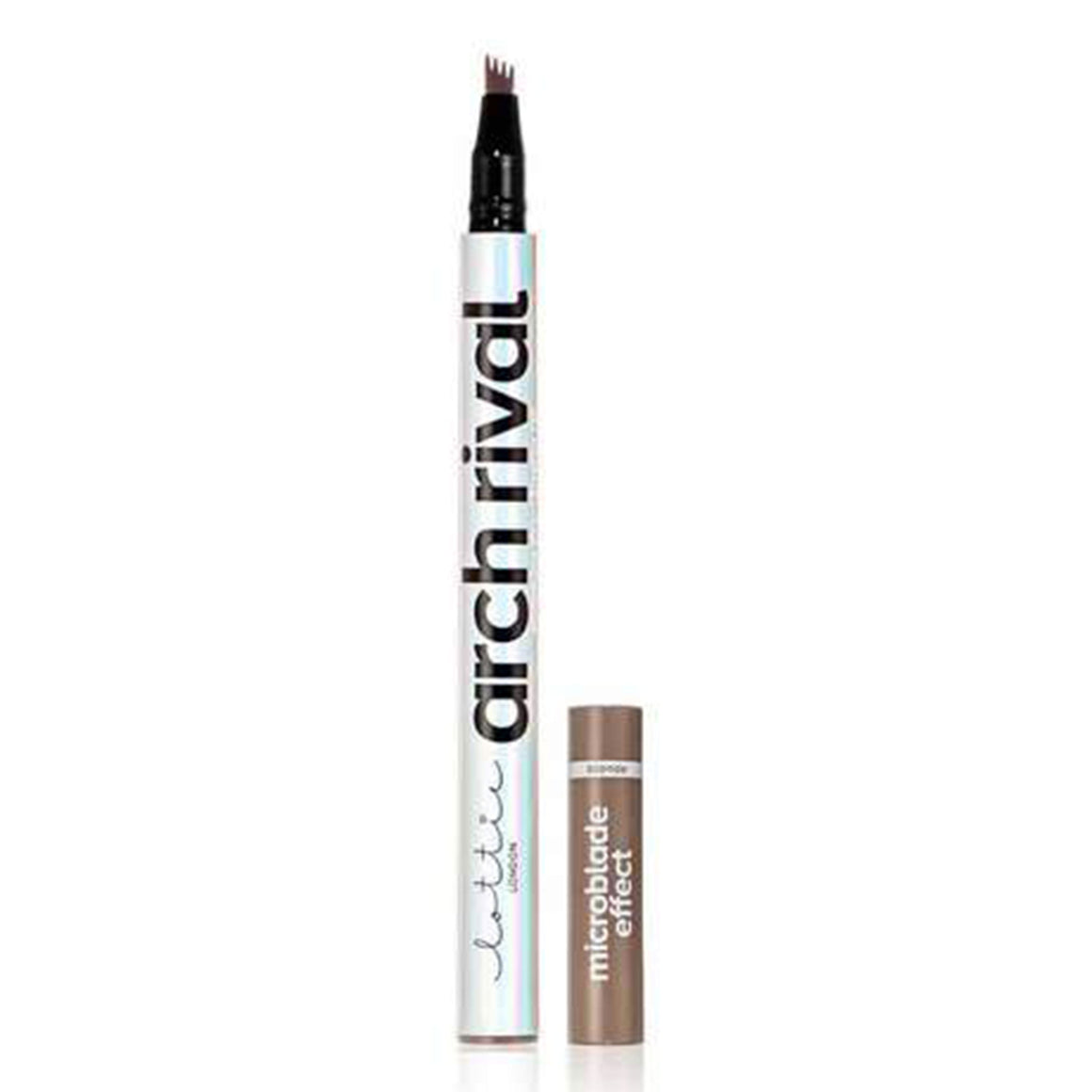 Lottie London - Arch Rival Microblade Effect Eyebrow Pen - Ebony