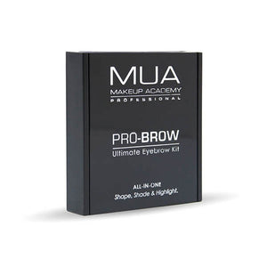 MUA Ultimate Eyebrow Kit -Dark at BD Budget Beauty (BBB)