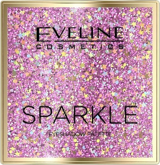 EVELINE Eyeshadow Palette 9 Colours Sparkle