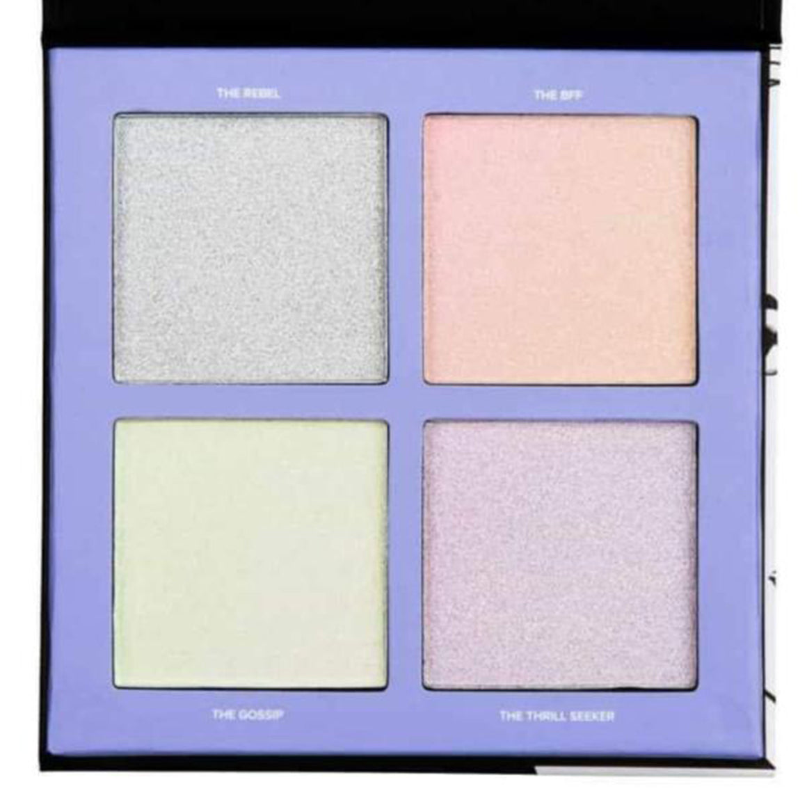 Lottie London-Shimmer Squad Holographic Haul Highlighting palette