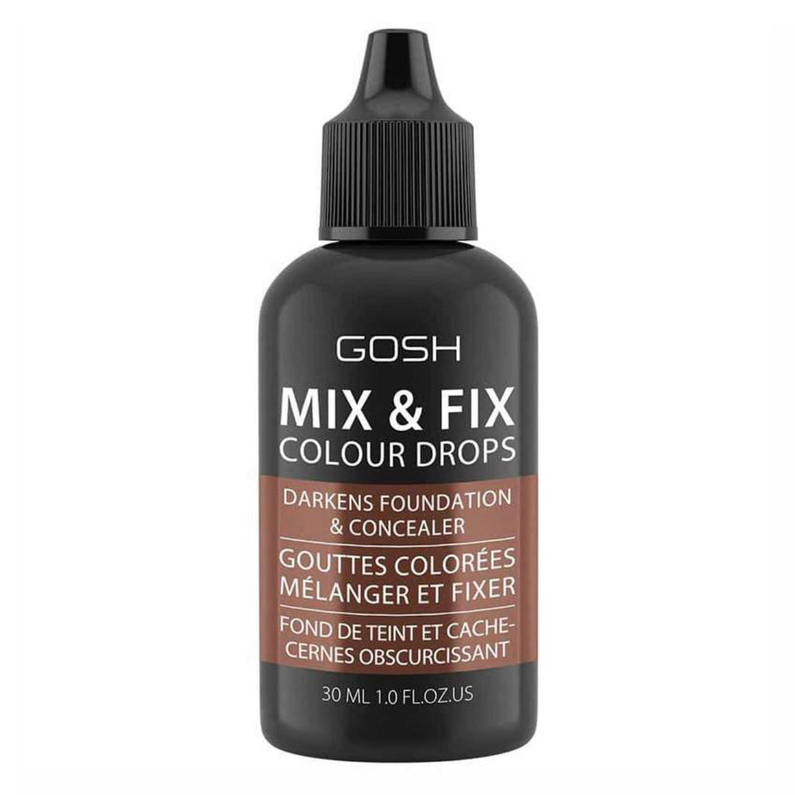 GOSH Mix & Fix Colour Drops - 004 (Dark)