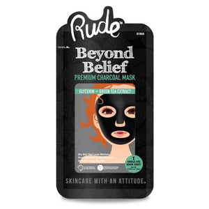 RUDE - Beyond Belief Charcoal Face Mask