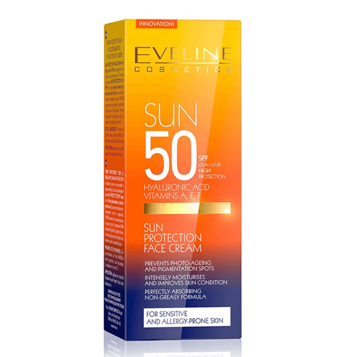EVELINE Sun Protection Face Cream SPF50 - 50ml