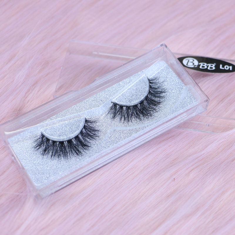 BBB Exclusive Mink Lashes - L01 Black