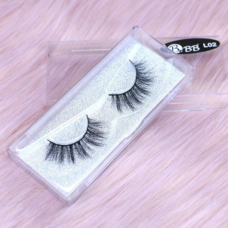 BBB Exclusive Mink Lashes - L02 Black