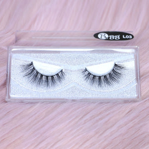 BBB Exclusive Mink Lashes - L03 Black