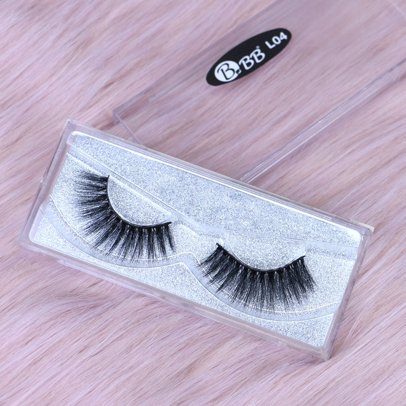 BBB Exclusive Mink Lashes - L04 Black