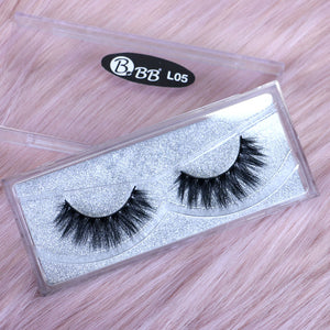 BBB Exclusive Mink Lashes - L05 Black