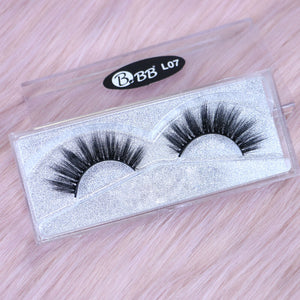 BBB Exclusive Mink Lashes - L07 Black