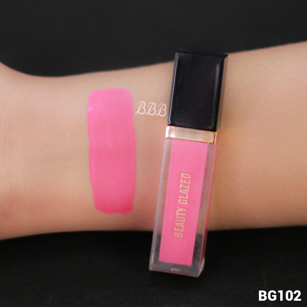 MINI BEAUTY GLAZED Matte Liquid Lipstick - 102 Pale Mauve