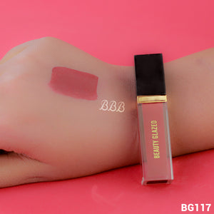 MINI BEAUTY GLAZED Matte Liquid Lipstick - 117 Burgundy