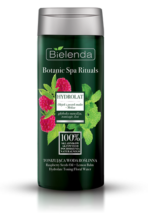 BOTANIC SPA RITUALS Raspberry Seed Oil + Lemon Balm Hydrolate Toning Floral Water for All Skin Types - 200ml