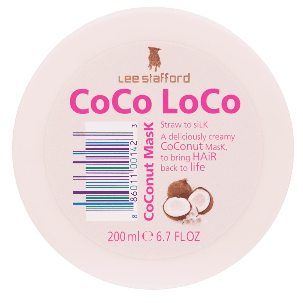 Lee Stafford - Coco Loco Coconut Mask - 200ml at BD Budget Beauty (BBB)