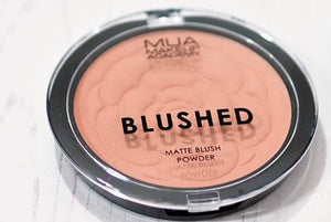 MUA Blushed Shimmer Blush Powder - Papaya Whip