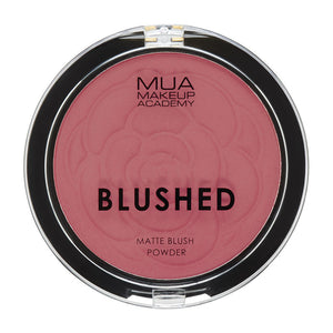 MUA Blushed Shimmer Blush Powder - Rouge Punch at BD Budget Beauty (BBB)