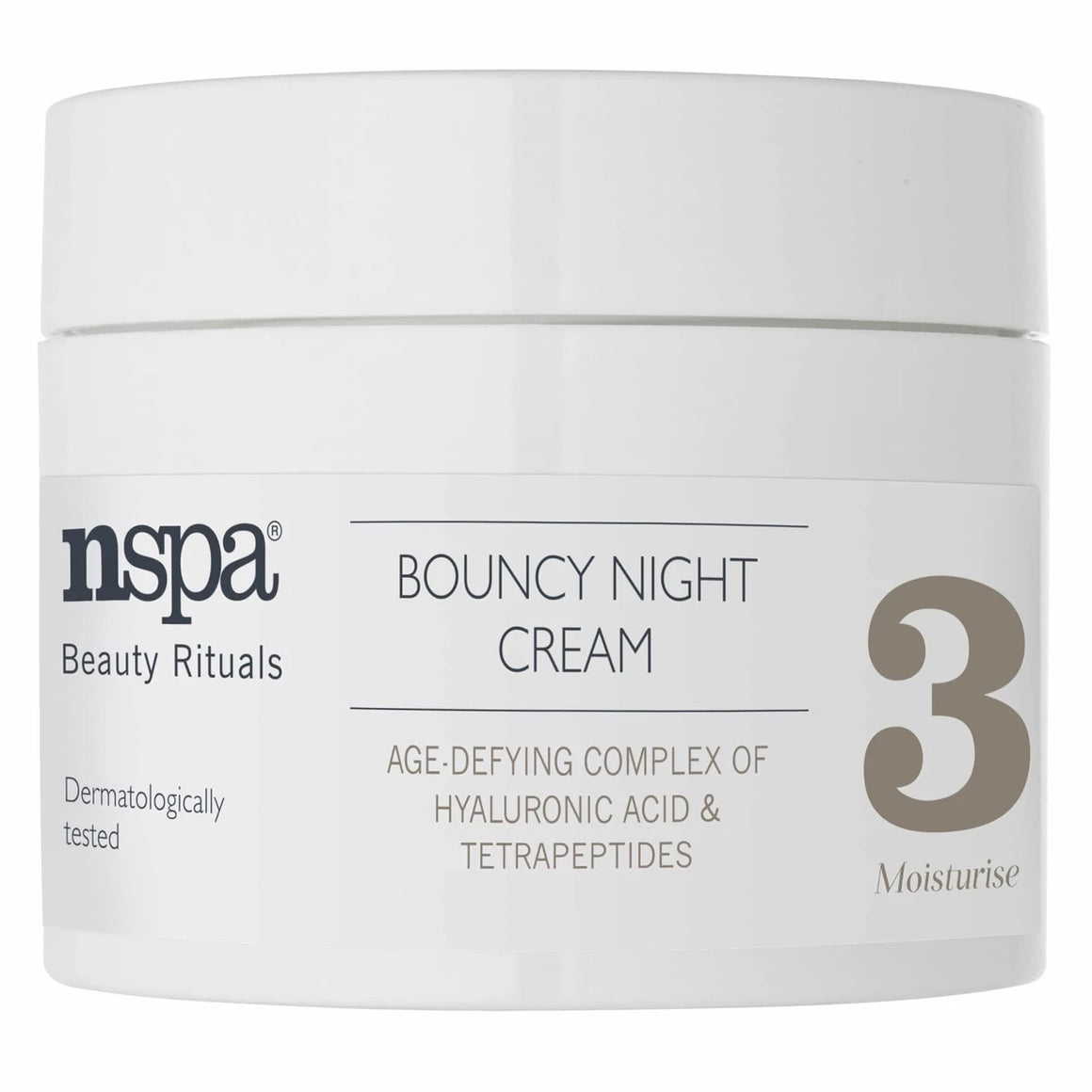 nspa Bouncy Night Cream-50ml at BD Budget Beauty (BBB)