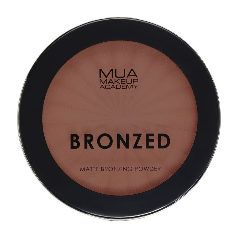 MUA Bronzed Matte Bronzing Powder Solar - #130 at BD Budget Beauty (BBB)