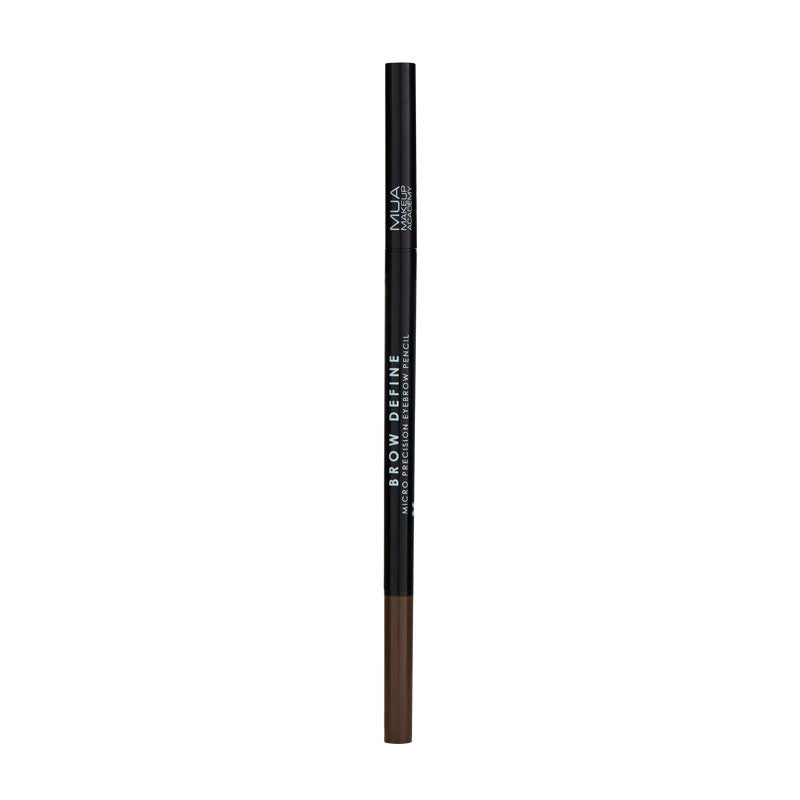 MUA Brow Define Micro Eyebrow Pencil - Dark Brown at BD Budget Beauty (BBB)