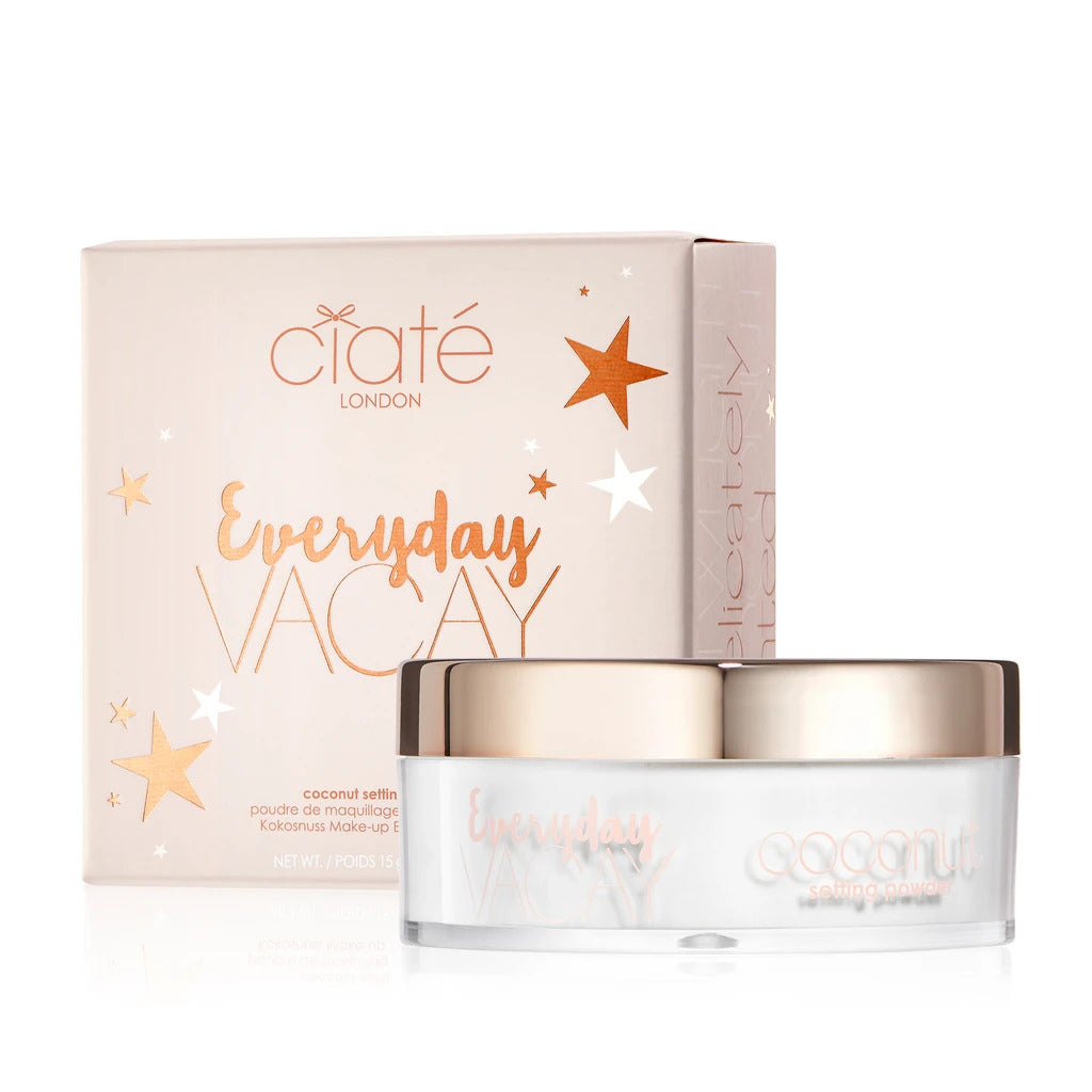 CIATE LONDON Everyday Vacay Coconut Setting Powder - 15g