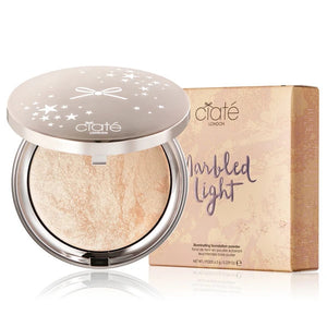 CIATE LONDON Marbled Light Illuminating Foundation Powder 6.5g - Peach Porcelain