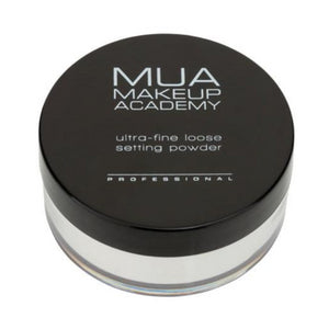 MUA Ultra-Fine Loose Setting Powder - Invisible Silk at BD Budget Beauty (BBB)