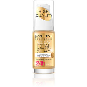 EVELINE All Day Ideal Stay Covering Foundation 30ml - 83 Golden Sand