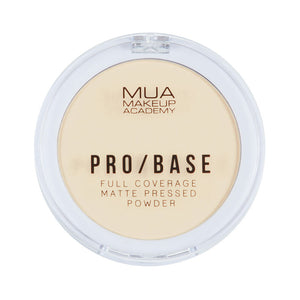 MUA Pro Base Full Coverage Matte Pressed Powder #100 at BD Budget Beauty (BBB)